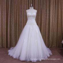 Фабрика OEM последние дизайн горячие продать свадебное платье