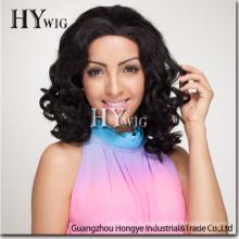 Модный конфеты вьющиеся синтетический парик волос (ЕО-КС)