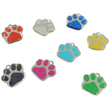 2016 Hot Sales Haustier Geschenk Metall Glitter Epoxy ID Haustier Hundemarke (W-20)