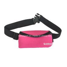 Adjustable Neoprene Sports Running Waist Belt with Custom Logo (SNWS10)