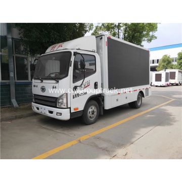 New LED display advertising truck for sale