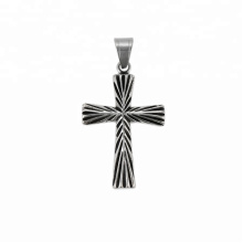 33753 xuping Religion series 2018 diseño simple moda negro pistola color cruz colgante