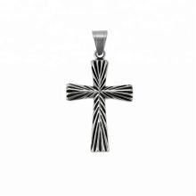 33753 xuping série Religião 2018 design Simples moda arma preta cor cruz pingente