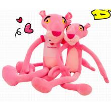Pink Leopard Shaped Toy Plush