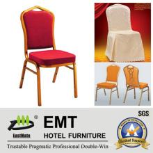 Конкурентоспособная цена Алюминиевая сталь Stacking Hotel Свадебный банкетный стул (EMT-HC81)