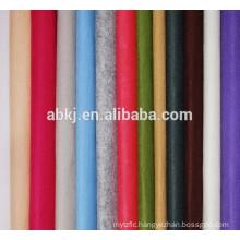 Colored wool felt sheet
