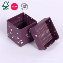 Fancy Custom Storage Lid Cardboard Paper Gift Box
