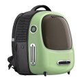Ecológico Cute Capsule Bubble Air Pet Carrier