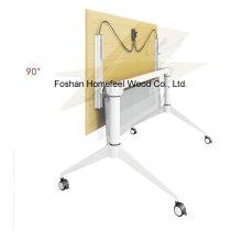 Table de formation pliante en métal avec roulettes (LS-718)