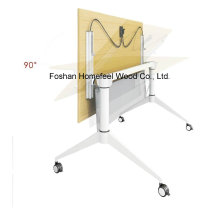 Metal Folding Training Table with Casters (LS-718)