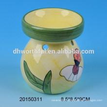 Quemador de aceite cerámico colorido para la decoración casera