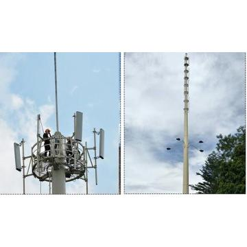 36M Powder Coated Spray Telecom Communication Pole