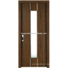 WPC PVC-WC-Glas-Design, Bad Tür mit mattiertem Glas