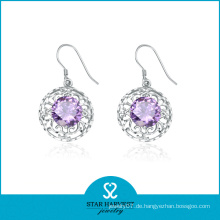 Whosale 925 Silber Ohrring für Luxus-Design