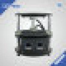 Автоматические электрические канифоли пресс с 5 «X 2» одного БАРАНА нагревательные пластины