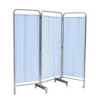 Hospital furniture foldable stainless steel hospital folding screen