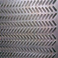 304, 304L, 316, feuille perforée d'acier inoxydable de 316L