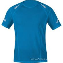 Vente en gros en usine Hommes T-Shirts de fitness Sport Wear T-Shirts