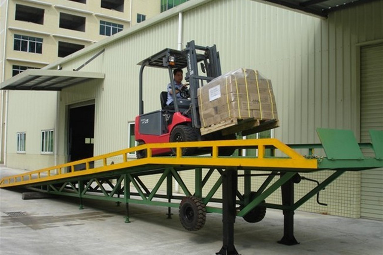 Mobile Loading Dock Ramp Slope