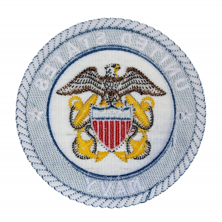 U S Military And Police Embroidered Seal