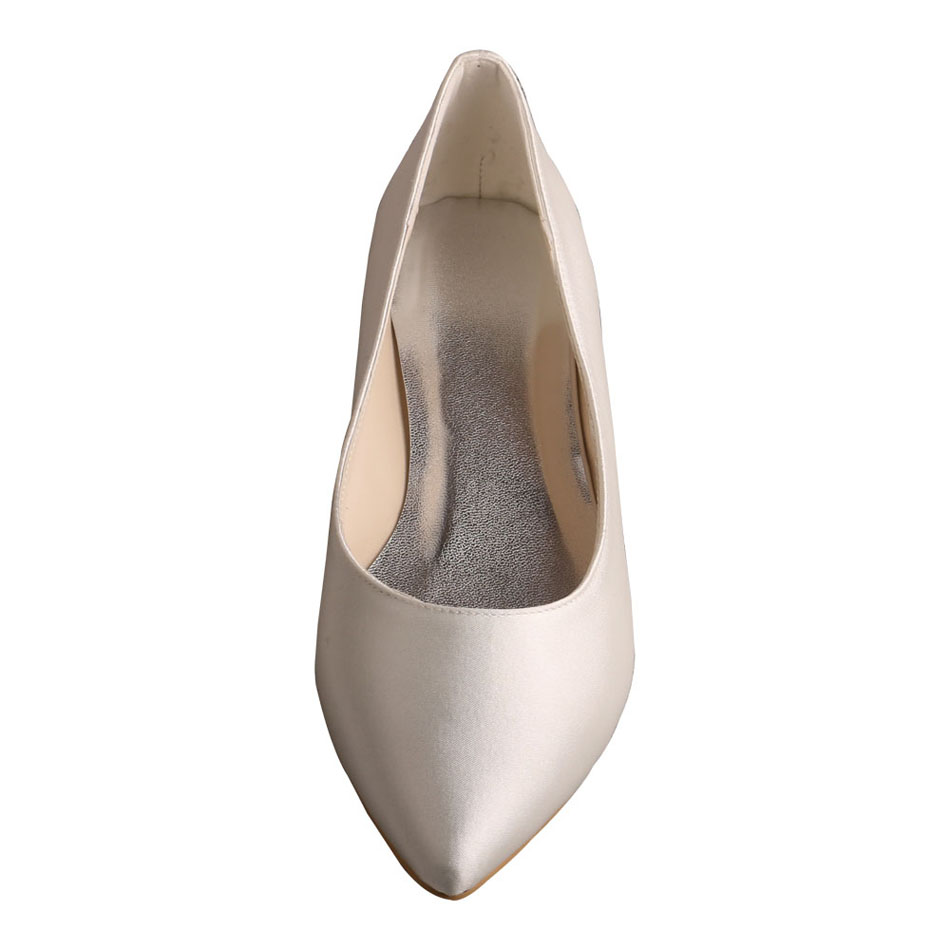 Pointed Toe Bridal Flats