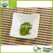 Beneficios japoneses del polvo del té verde del té de Matcha