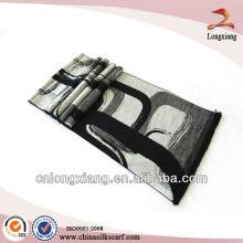 Winter Warm Brushed Silk Viscose Scarf