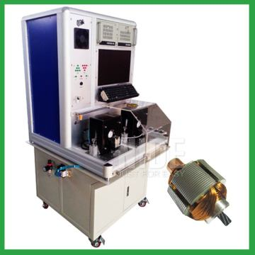 Motor automatic armature testing machine