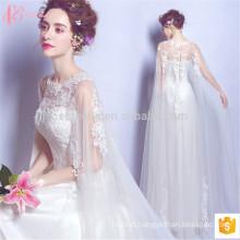 2017 vestido de noiva sem mangas de design novo slim fit mais vestido de casamento de tamanho