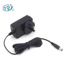 led lighting adaptor 9v 12v 15v 24v 0.5a 1a 1.5a 2a rcm saa power adapter for Australia new Zealand