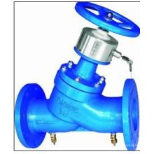 Sistema de oleoduto líquido usado válvula de equilíbrio de bloqueio digital