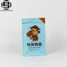 Custom aluminium foil ziplock bag for vacuum food