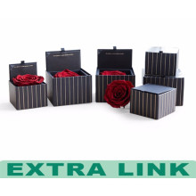 Customized shape waterproof gift flower box cardboard gift packing box with lid