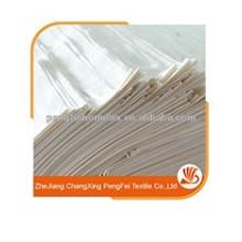 Tissu 100% couleur microfibre en tissu blanc coloré en tissu