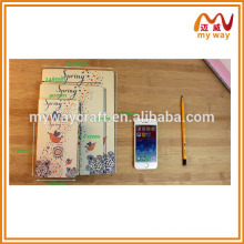 2016 high quality diary, Kraft paper notebook,best selling products in japan
