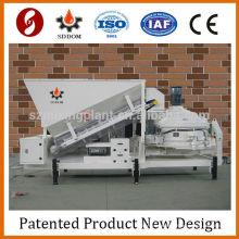Calculateur de béton Mélangeur de ciment Plateau mobile en béton