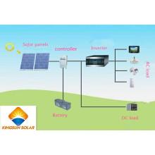 Apagado del sistema de energía solar casero de la rejilla (KS-S2000)