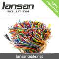 LANSAN cabo de telefone de alta velocidade de 100 pares indoor com revestimento de PVC condutor de 0,5 mm Bare CE UL ISO APPROVAL