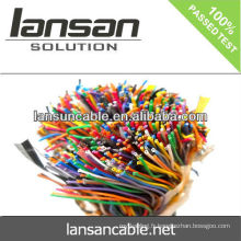 LANSAN Câble téléphonique intérieur à 100 p. 100 à haute vitesse avec doublure en PVC Conducteur nu 0,5 mm CE UL ISO APPROBATION