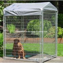Caixilharias temperadas para cães, painéis para cães