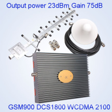 2g 3G 4G Signal Booster/Repeater 2g 3G 4G Signal Booster Repeater, Repeater 2g 3G 4G Indoor Tri-Band Booster with Cheap Price