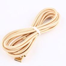 2м золото 24k металлами зарядное устройство кабель для зарядки шнур микро-Кабель USB 2.0 для Nintendo ndsi магазин баллы/NDSIXL/2ДС/3ДС/новых 3ds/3DSXL