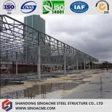 Edificio prefabricado de acero para el taller