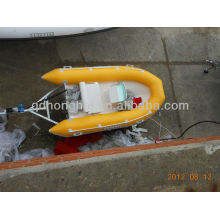 2013 deportes barco barco inflable RIB360 con CE