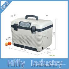 HF-1950 DC mini refrigerador para el coche mini refrigerador portátil del coche mini refrigerador del coche mini refrigerador