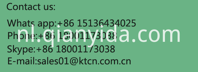 Kingeta fertilizer contact line