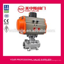 Actionneur pneumatique Types 1000WOG robinet à boisseau sphérique