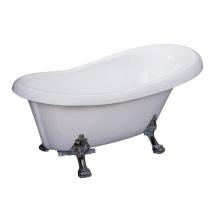 Кожаная ножка Дешевые акриловые отдельностоящие ванны Малый размер