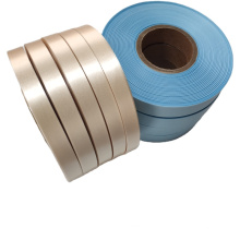 Factory price single side polyester satin ribbon for care labels