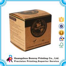 Impressão de caixas de embalagem de sabão de papel artesanal personalizado